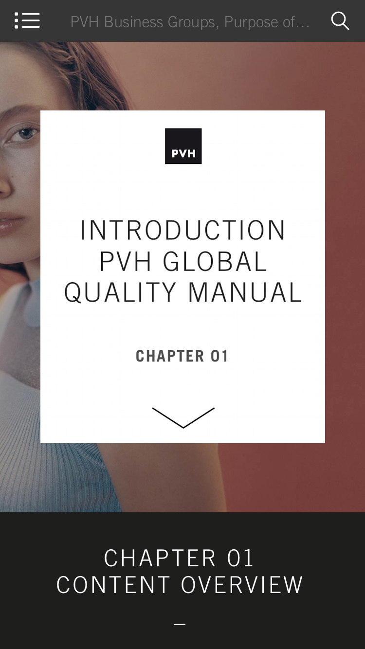 PVH - Manuals